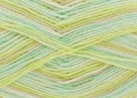 King Cole BABY PRINT 4PLY Double Knitting Wool / Yarn 100g - 2570 GOOSEBERRY